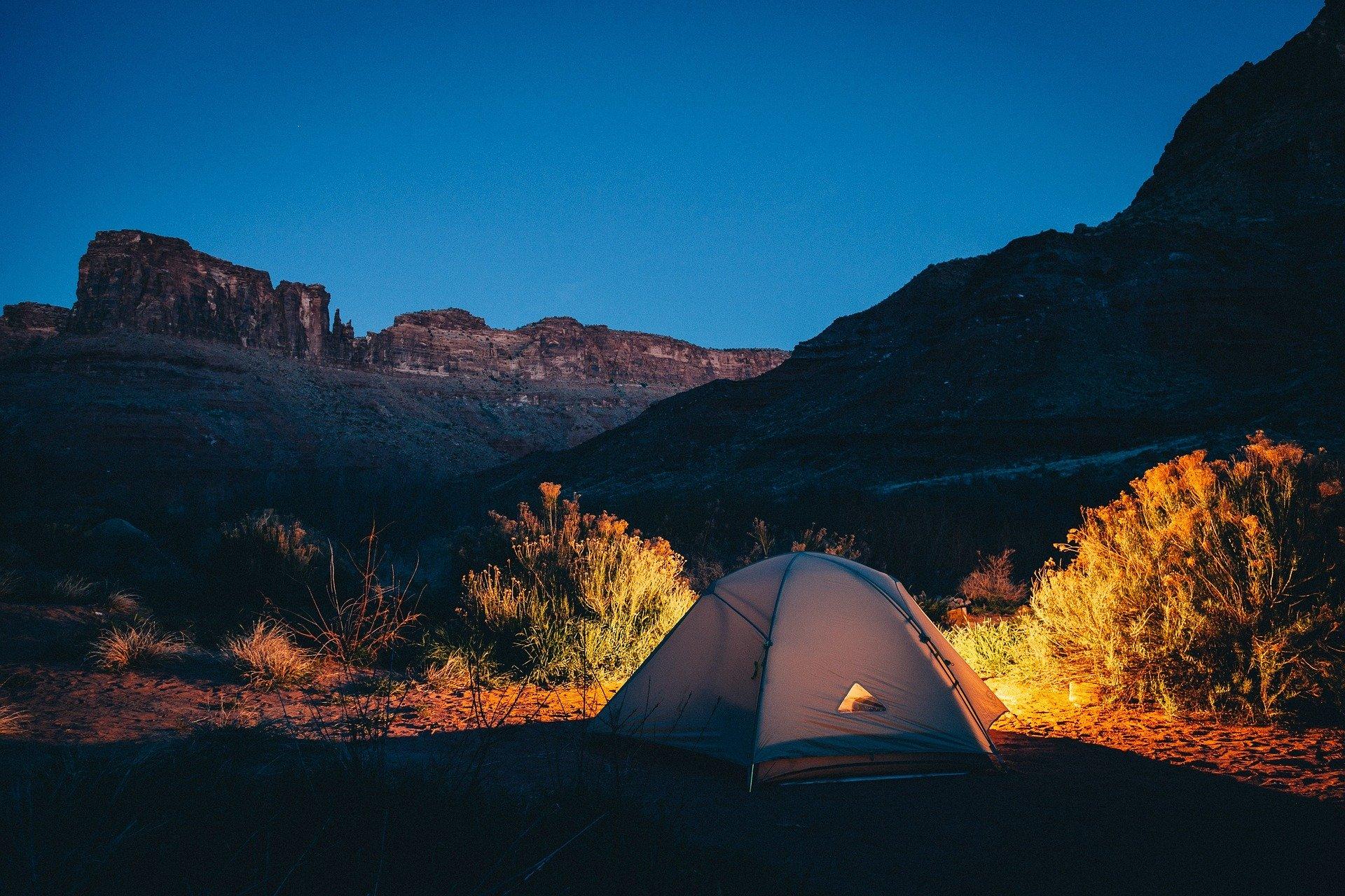 Le camping et le sport, les accessoires :